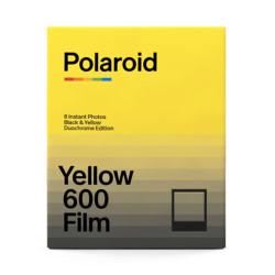 POLAROID 600 FILM DUOCHROME BLACK YELLOW EDIT