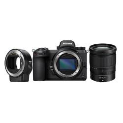 Nikon Z 6II + 24-70MM F/4 + Bague FTZ