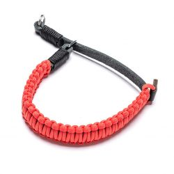 COOPH Paracord Hand Strap noir/rouge 18892