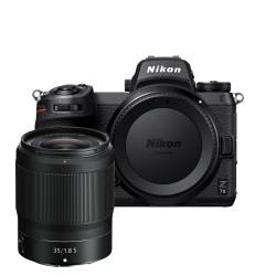 NIKON Z7 II + Nikon Z35 mm f/1,8