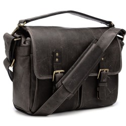 ONA BAG Prince Street Leica (Dark Truffle Leather)