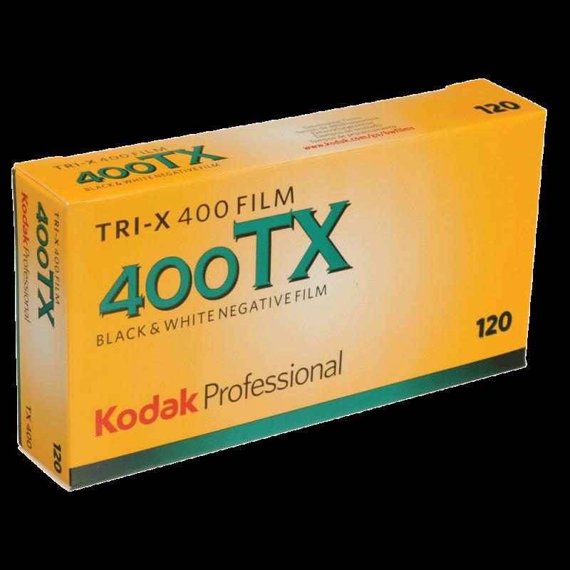 KODAK TRI X 400 120 - PACK DE 5