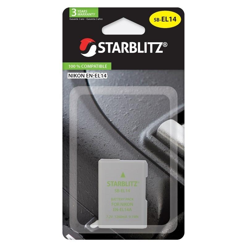 STARBLITZ BATTERIE COMPAT. NIKON EN-EL14