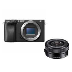SONY ALPHA 6400 + 16-50 mm f/3,5-5,6 (NOIR)