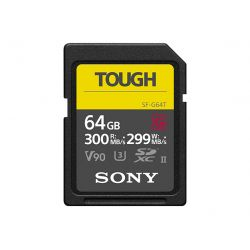 SONY SD SERIE G TOUGH 64GB R300W299 UHS-II CL