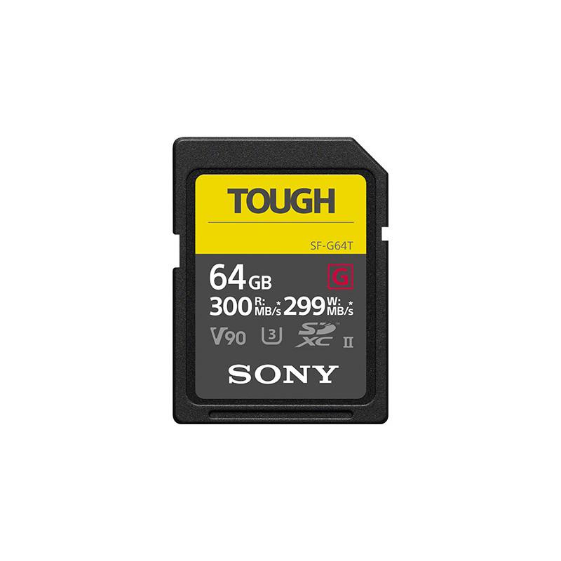SONY SD SERIE G TOUGH 64GB R300W299 UHS-II CL