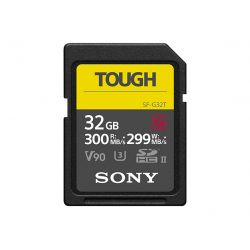 SONY SD SERIE G TOUGH 32GB R300W299 UHS-II CL