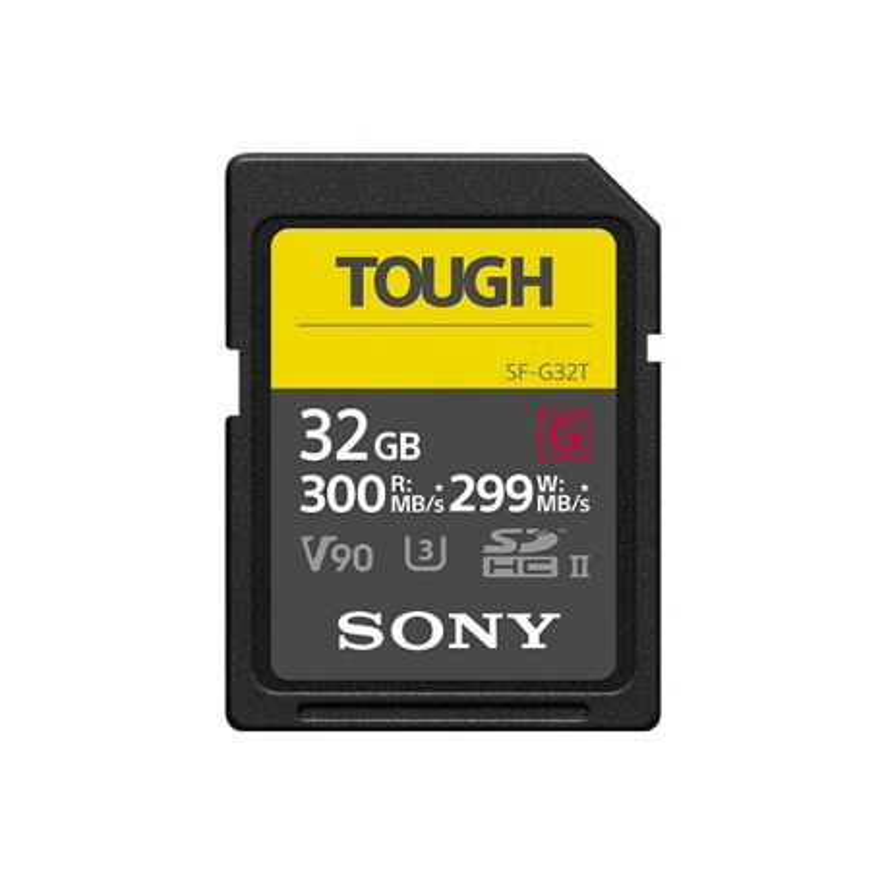 SONY SD SERIE G TOUGH 32GB R300W299 UHS-II CL
