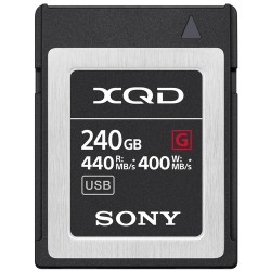 SONY XQD G 240GB HIGH SPEED R440 W400 5X STRO