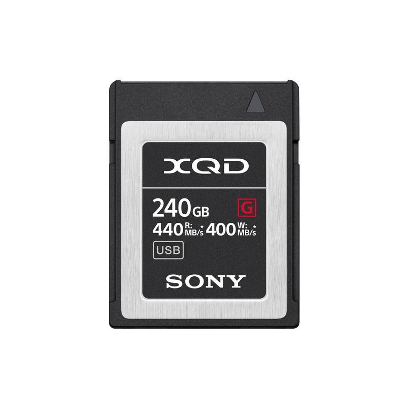 SONY XQD G 240GB HIGH SPEED R440 W400 5X STRO