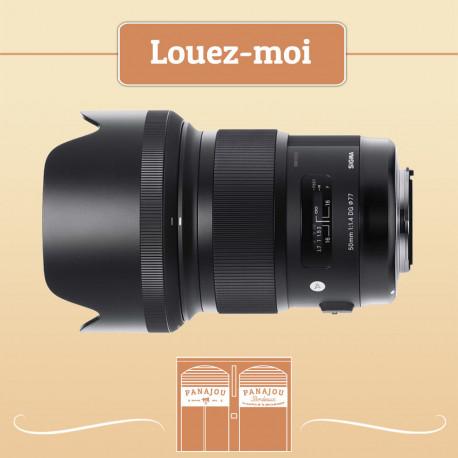 LOCATION SIGMA 50mm 1.4 DG Canon